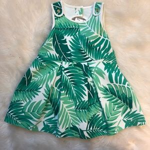 Janie and Jack palm leaf dress